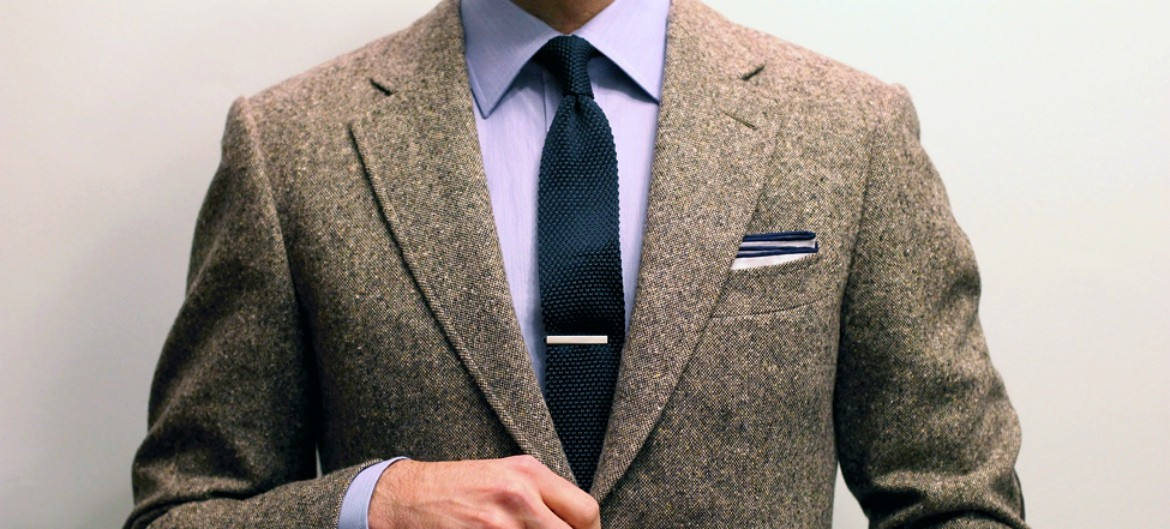 how to wear a tie tack photo - 1