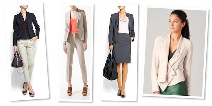 interview suit women photo - 1