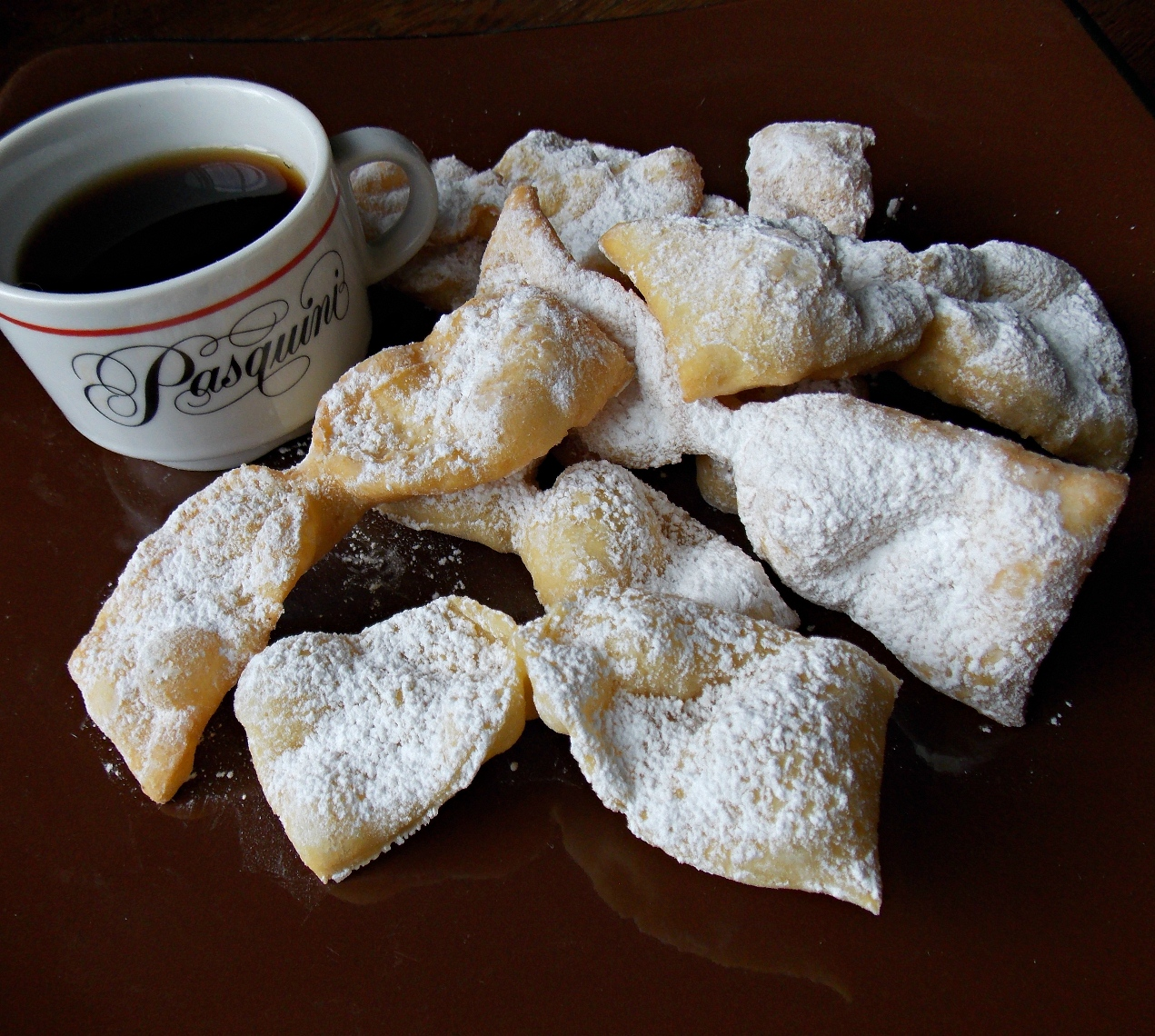 italian bow tie cookies photo - 1