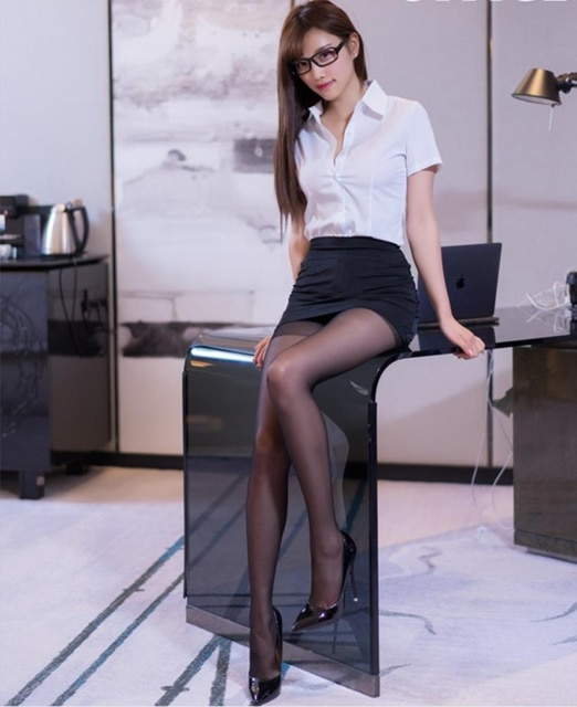 japanese office lady shirt photo - 1