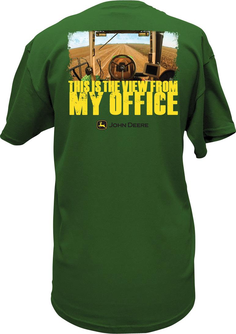 john deere shirt my office photo - 1