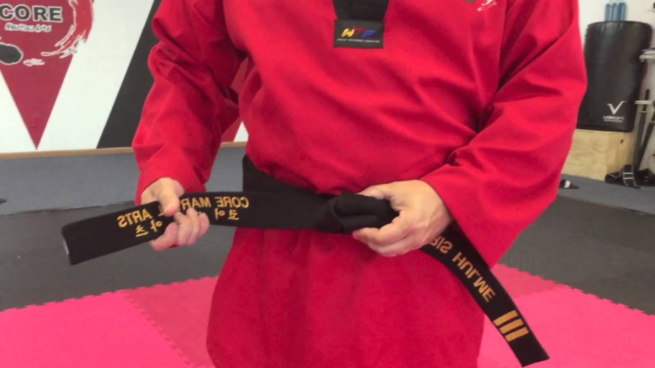 karate belt tie photo - 1