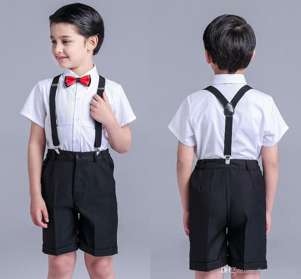 kids suspenders and bow tie photo - 1