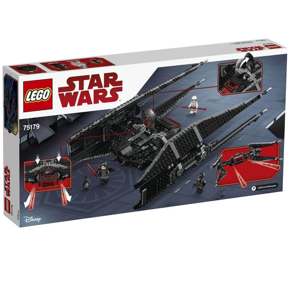 kylo rens tie fighter lego photo - 1