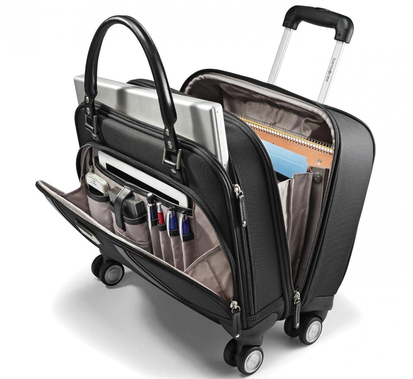 ladies briefcase on wheels photo - 1