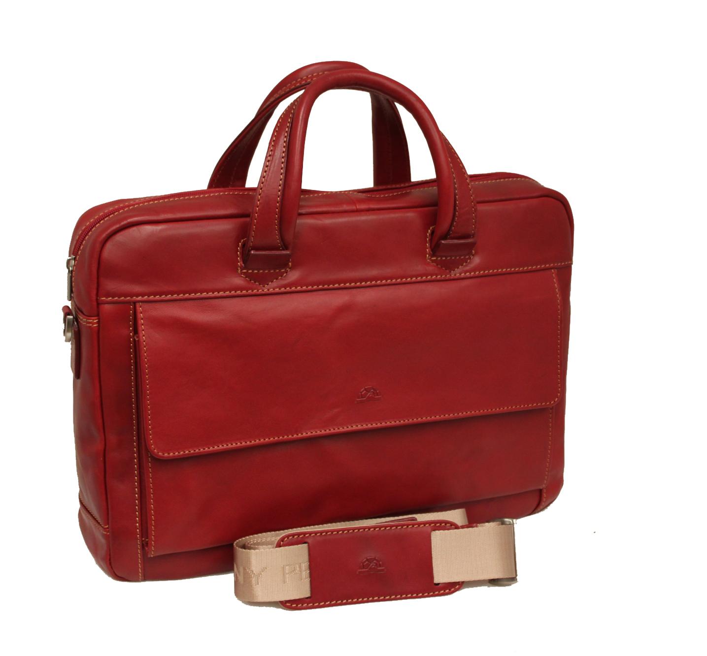 ladies leather briefcase photo - 1