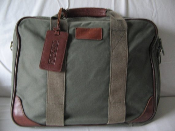 lands end briefcase photo - 1