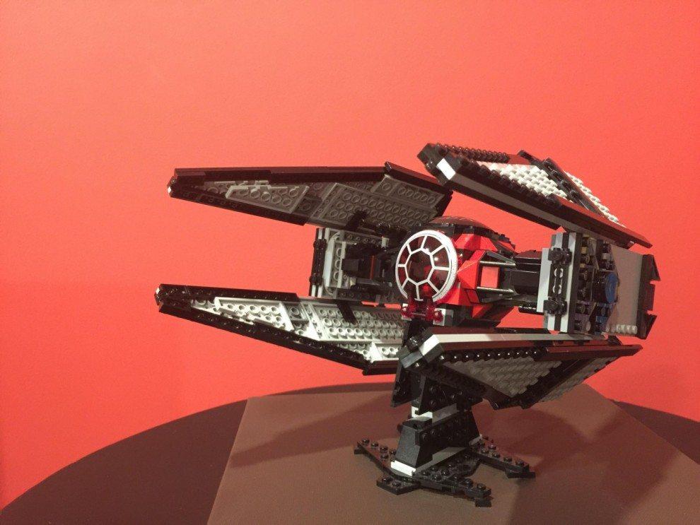 lego star wars tie interceptor photo - 1