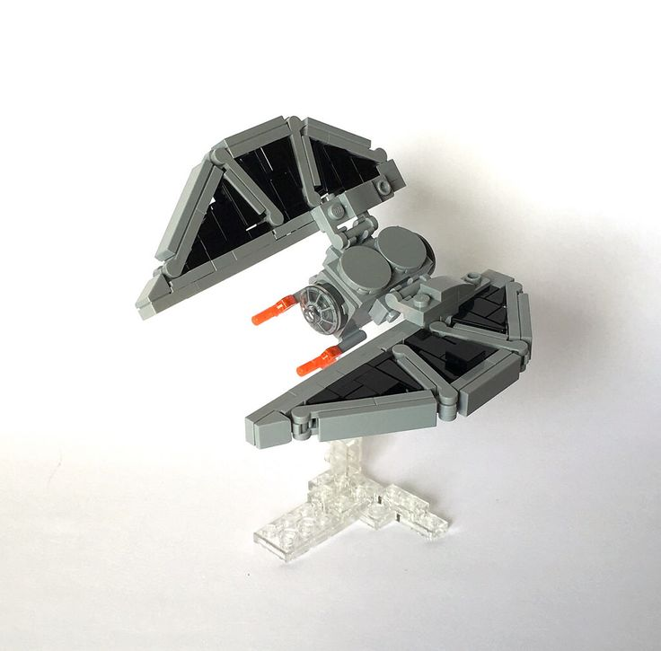 lego star wars tie striker photo - 1