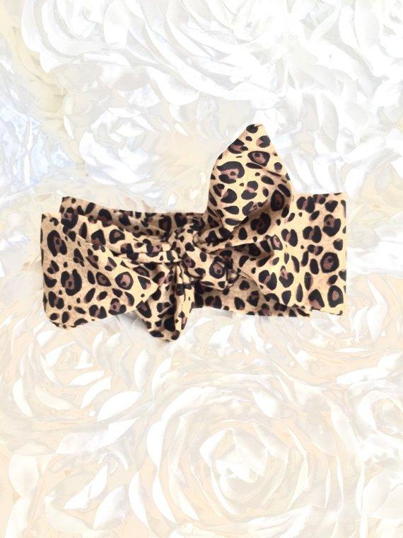 lepard print tie photo - 1