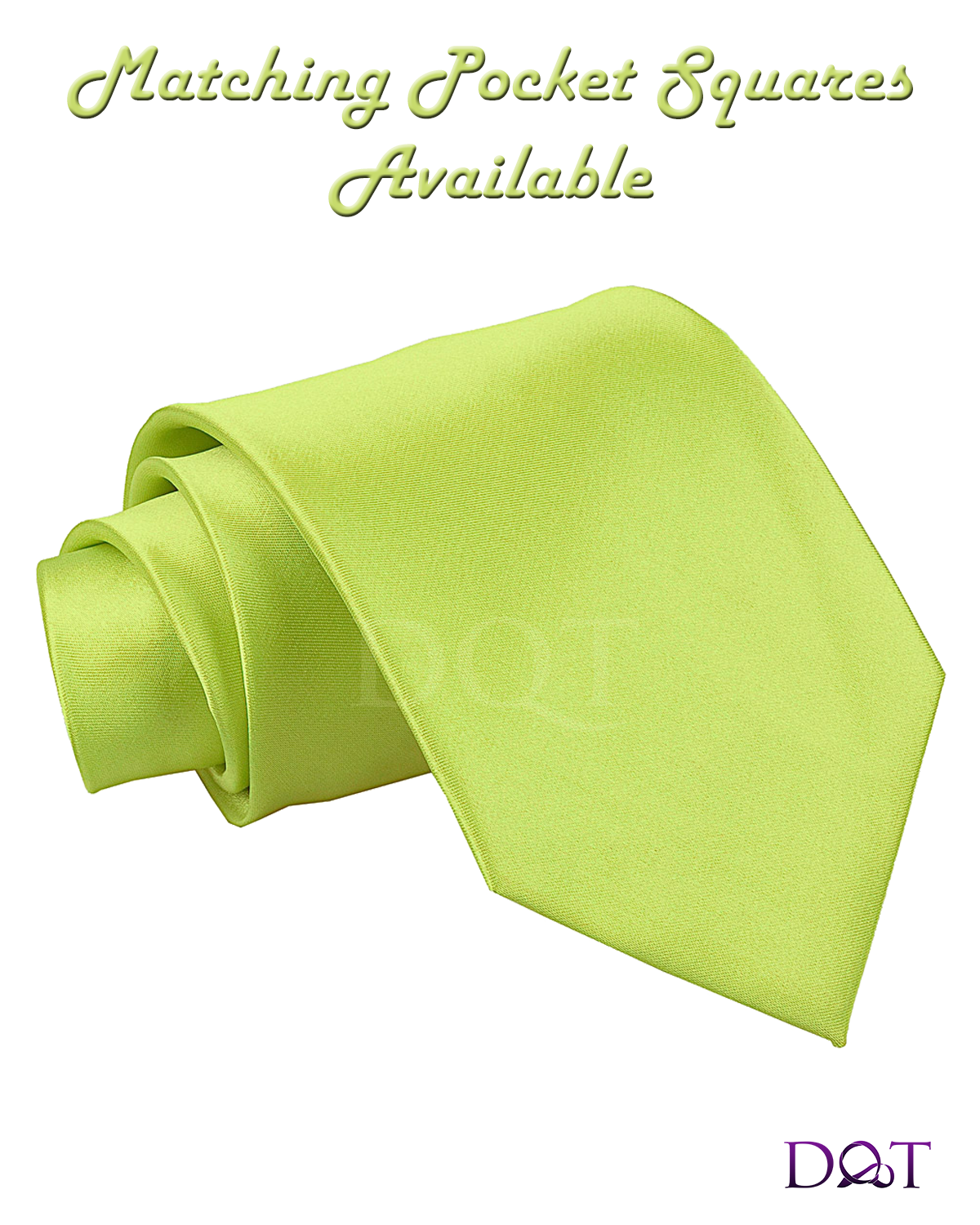 lime green tie photo - 1