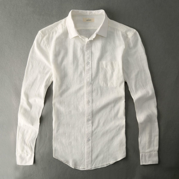 linen shirt at the office photo - 1