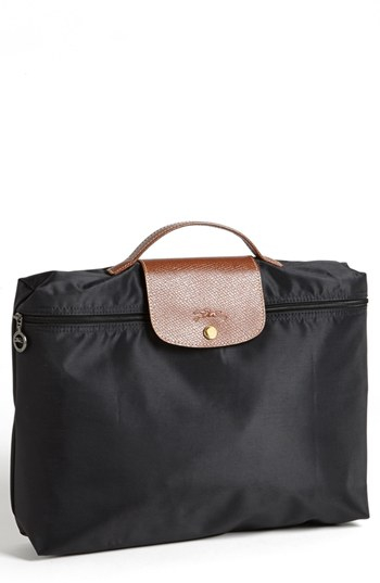 longchamp briefcase photo - 1
