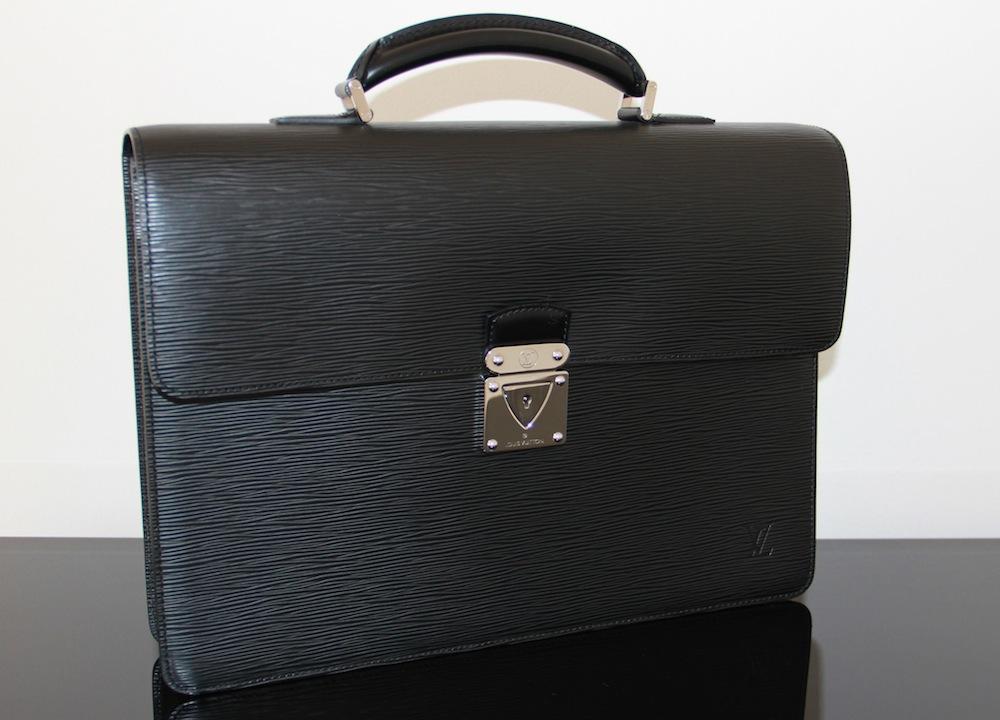 louis vuitton mens briefcase photo - 1