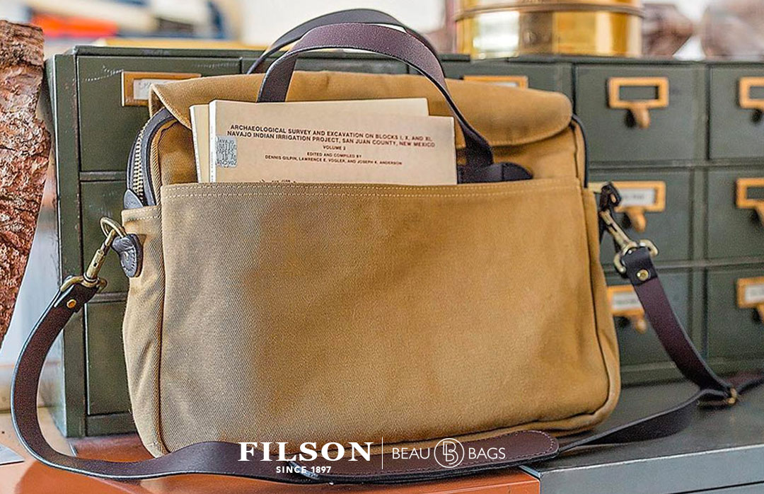 made in usa briefcase photo - 1