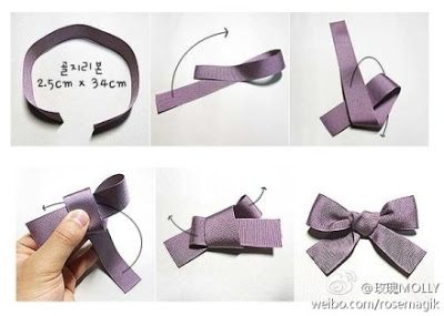 making bow tie photo - 1