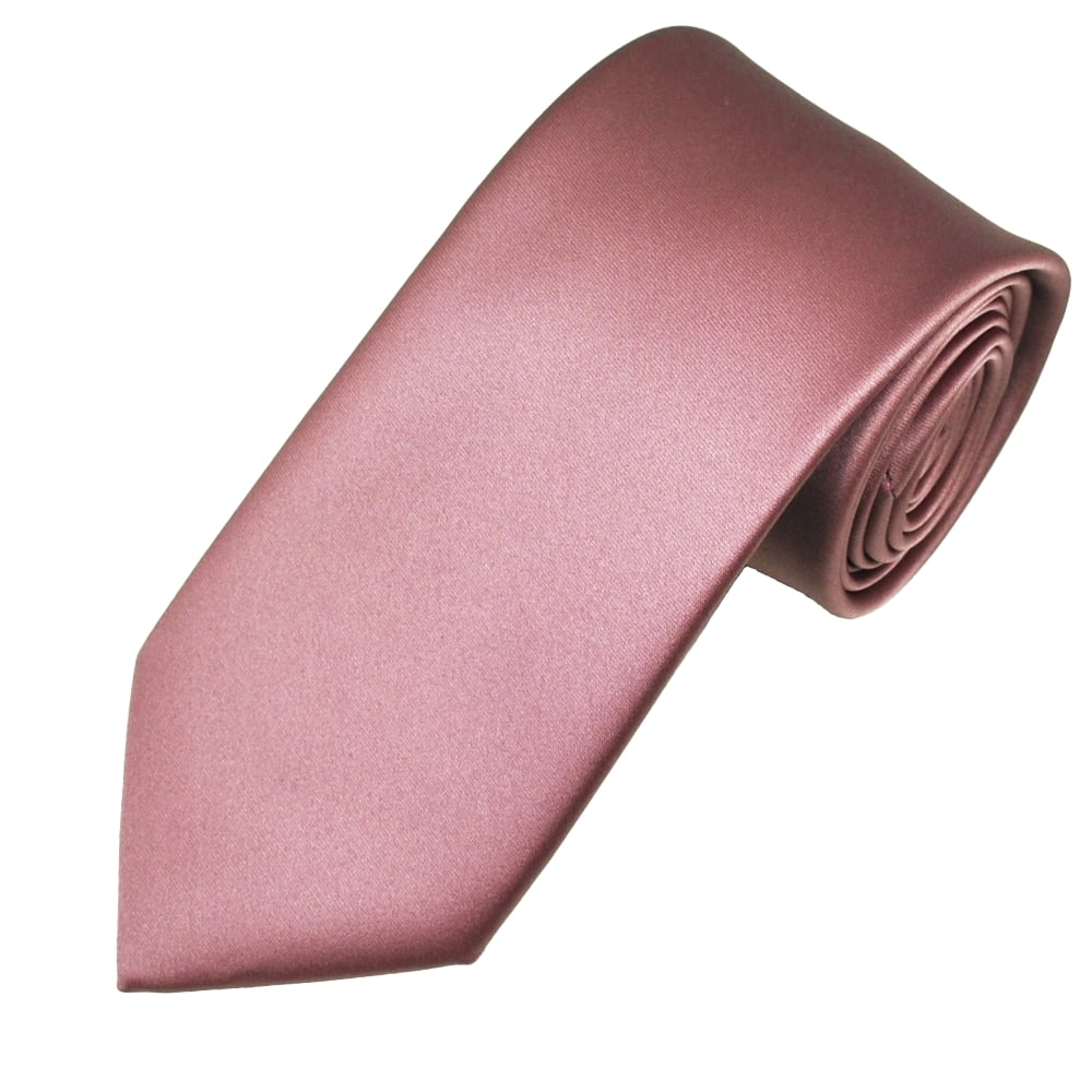 mauve tie photo - 1