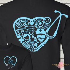 medical office monogram shirt designs photo - 1