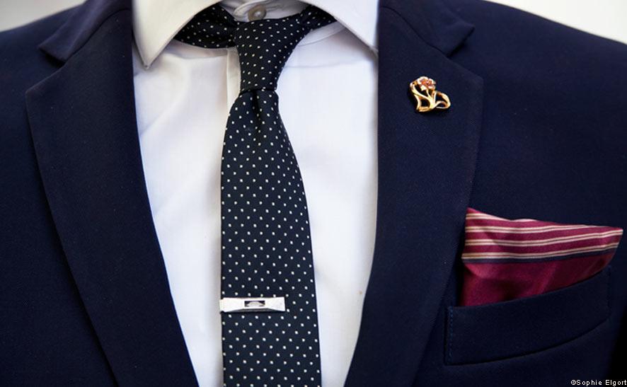 men suit accessories photo - 1