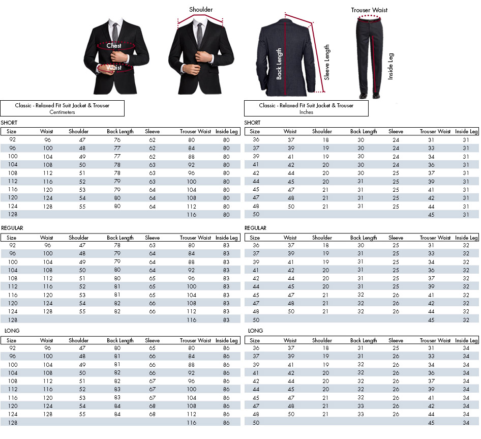 men suit size guide photo - 1