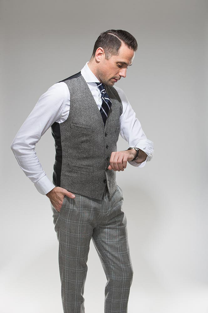 men suit vest photo - 1