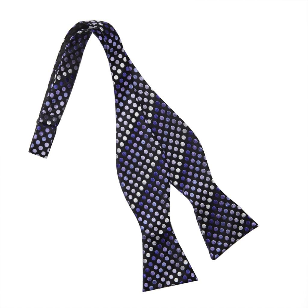 mens black bow tie photo - 1