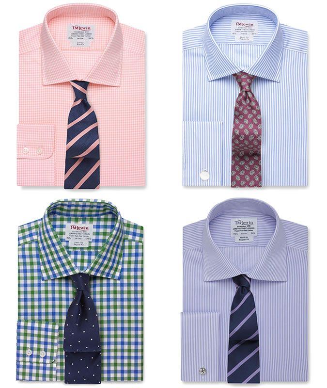 mens dress shirt and tie combos photo - 1