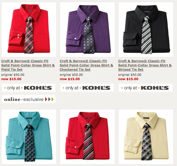 mens dress shirt and tie sets photo - 1