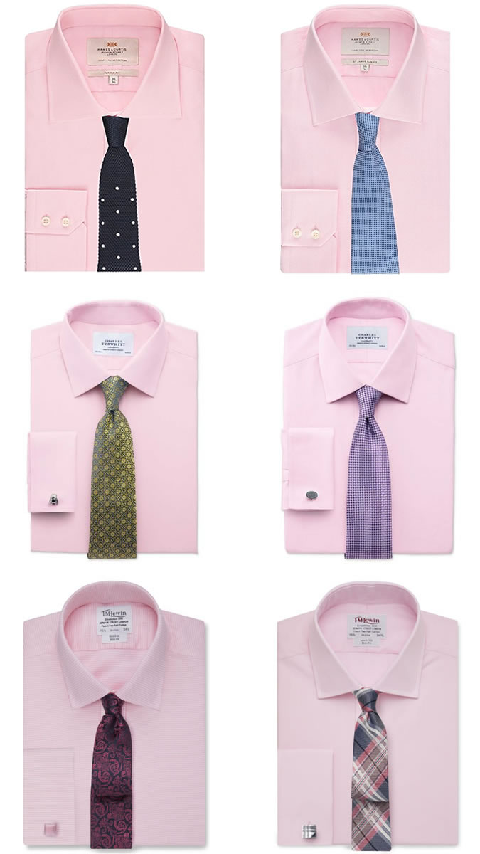 mens dress shirts and tie combos photo - 1