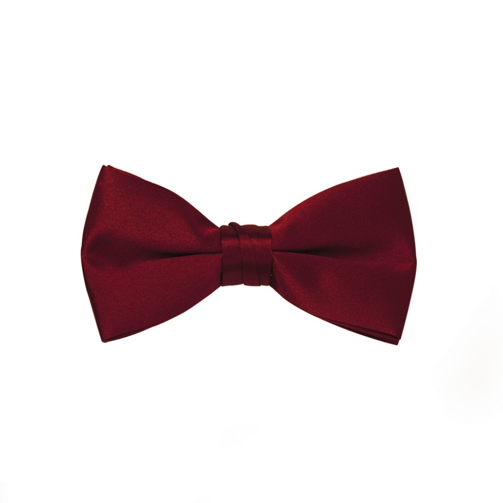 mens red bow tie photo - 1