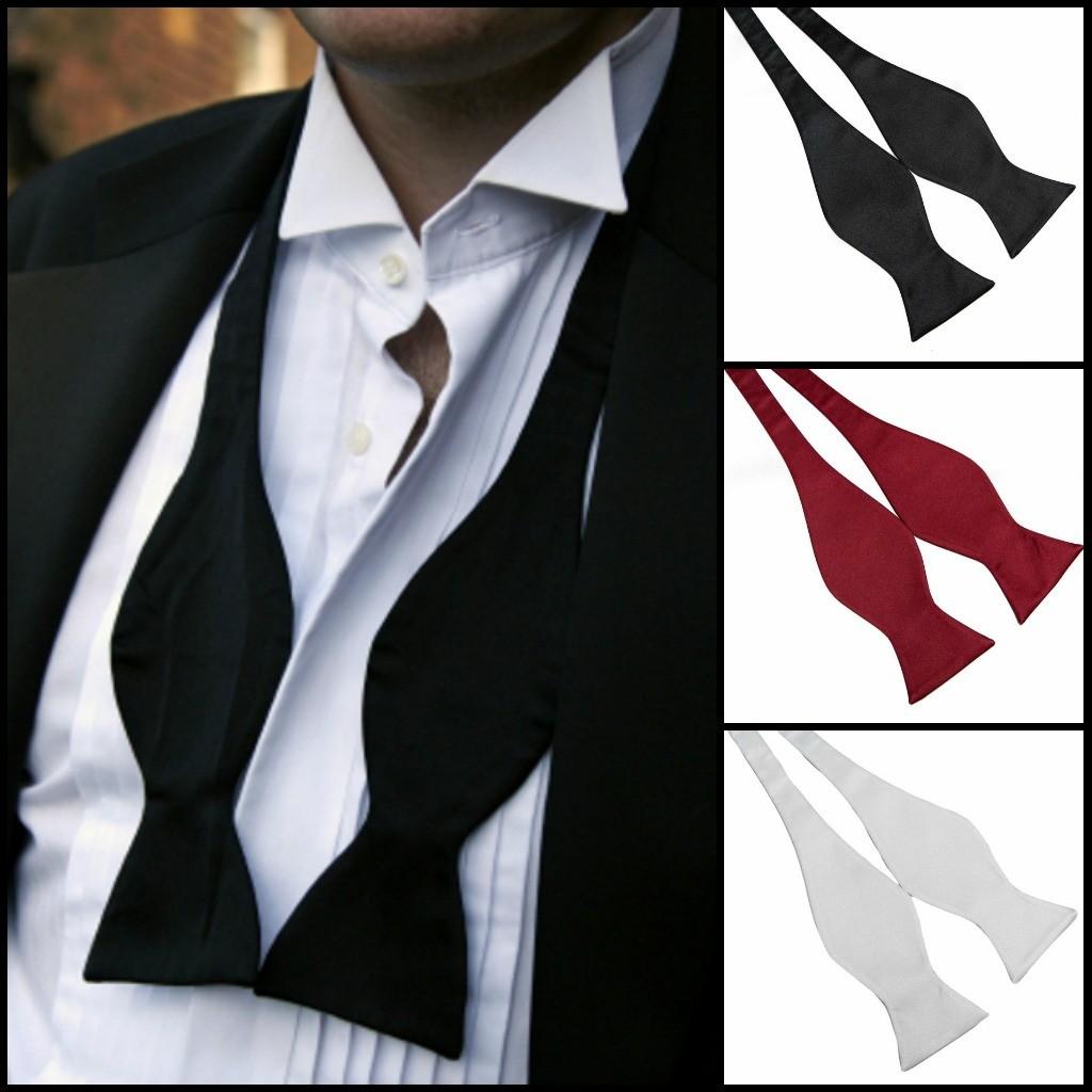 mens self tie bow ties photo - 1
