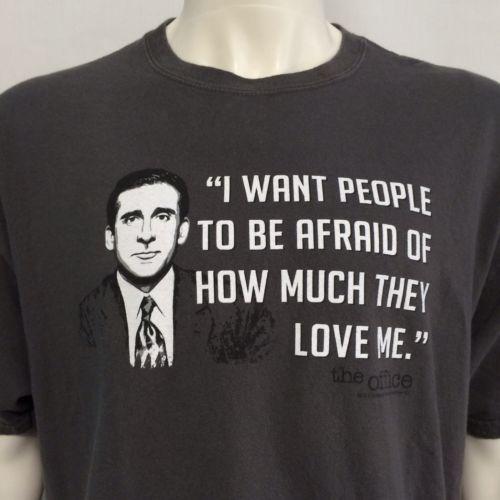 michael scott the office t shirt photo - 1