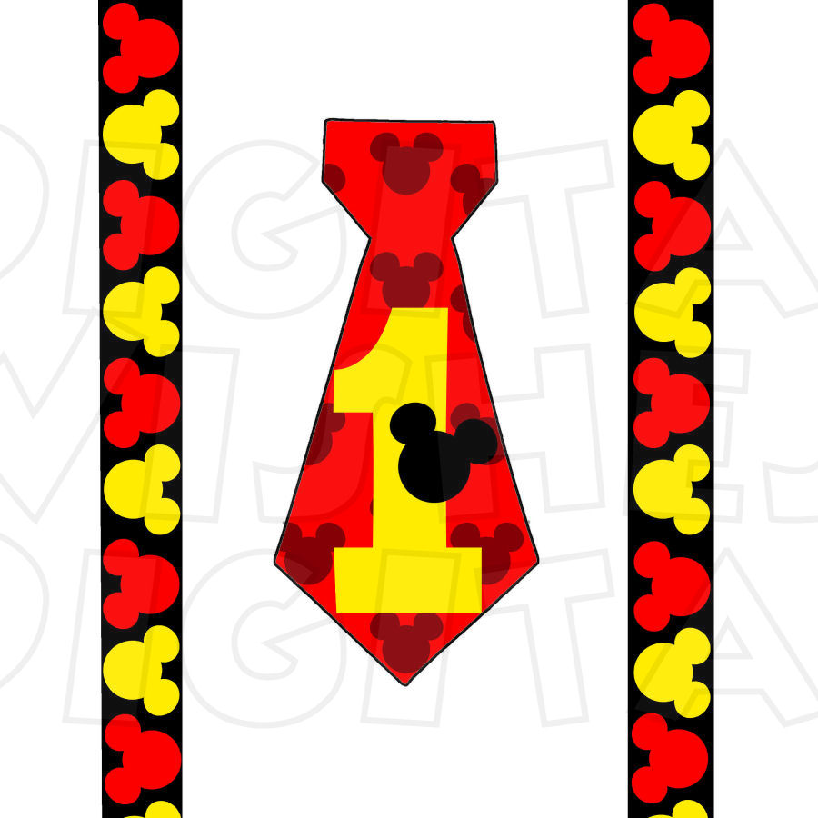 mickey mouse tie photo - 1