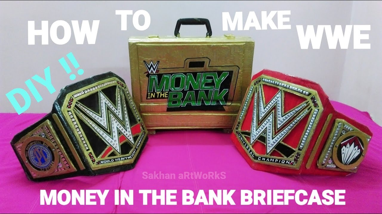 money in the bank briefcase photo - 1