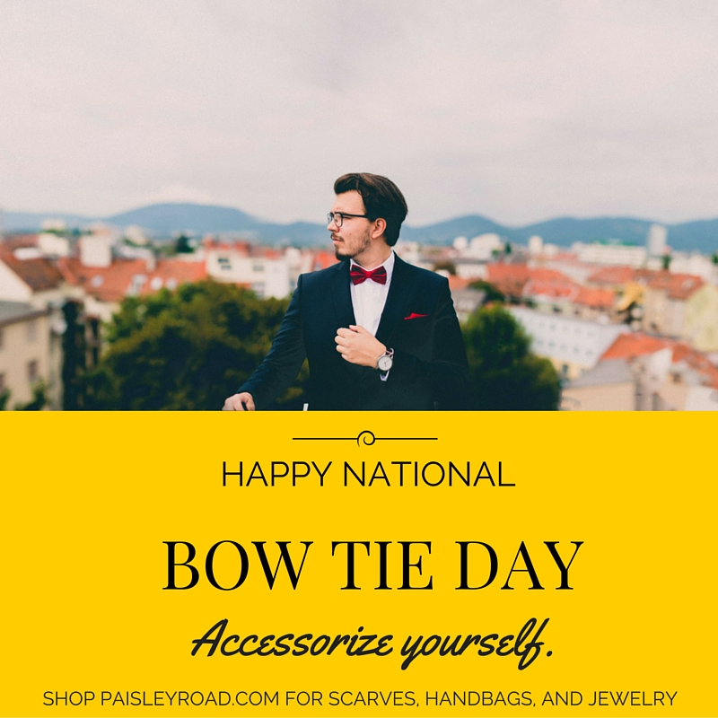 national bow tie day photo - 1