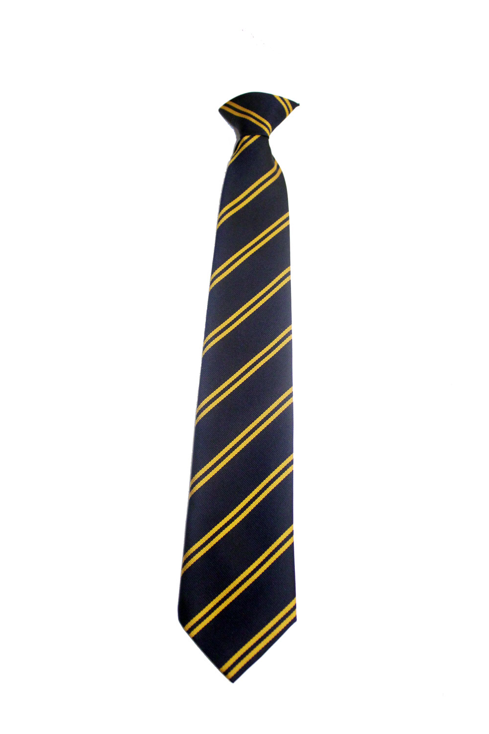 navy and gold tie photo - 1