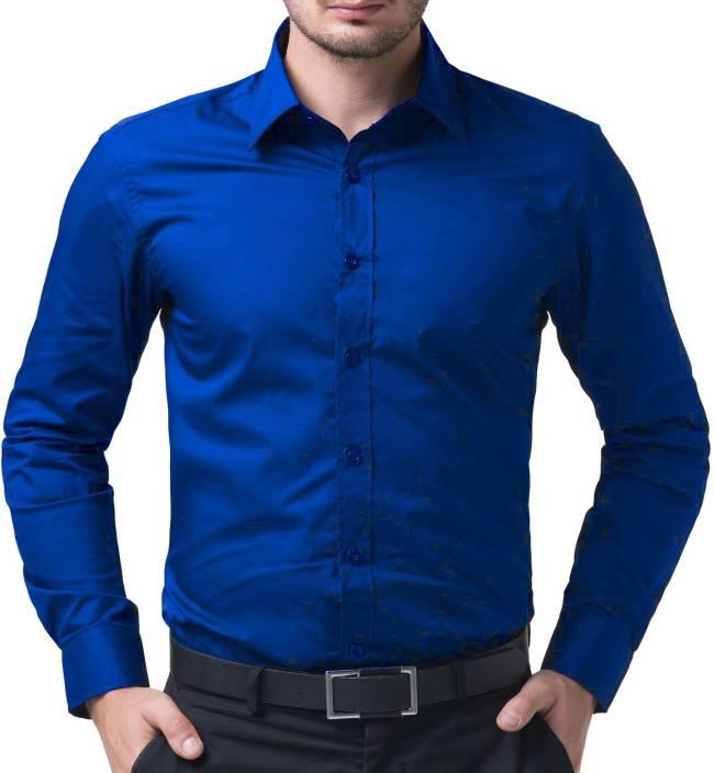 navy blue office shirt photo - 1