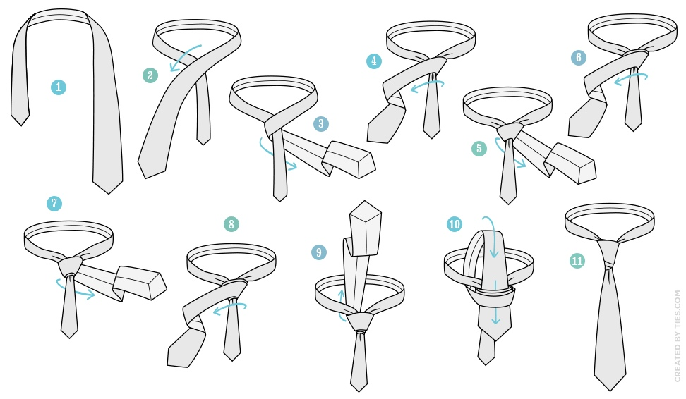 neck tie knots photo - 1