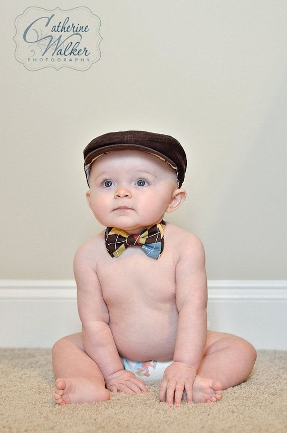 newborn bow tie photo - 1