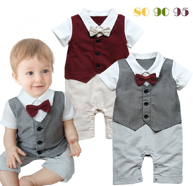 newborn suit and tie photo - 1