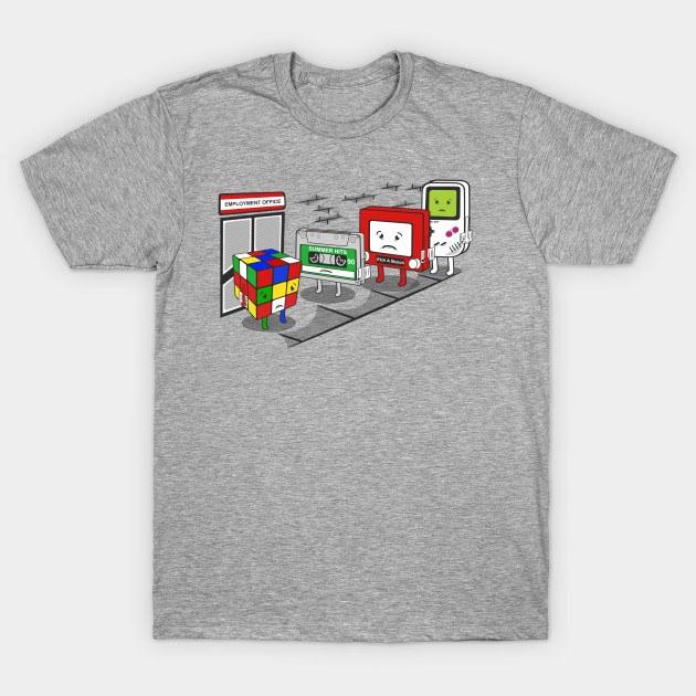 nintendo employment office shirt photo - 1