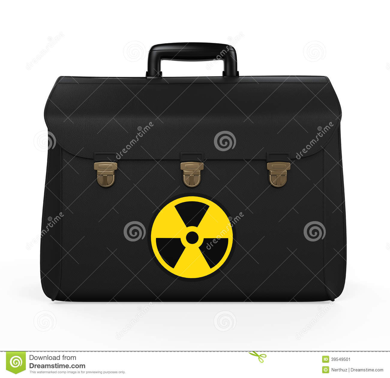 nuclear briefcase photo - 1