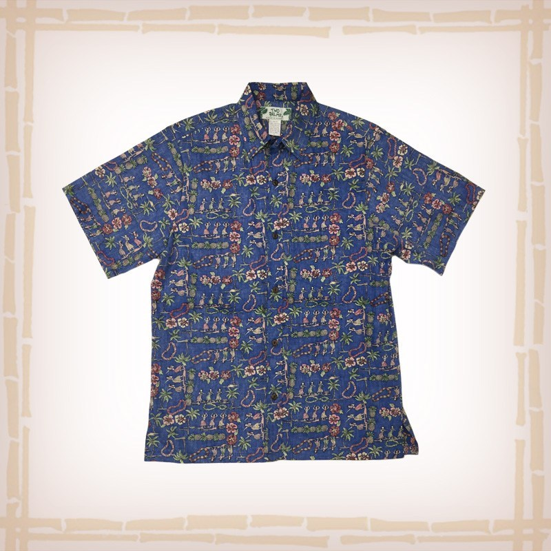 office hawaiian shirt pattern photo - 1