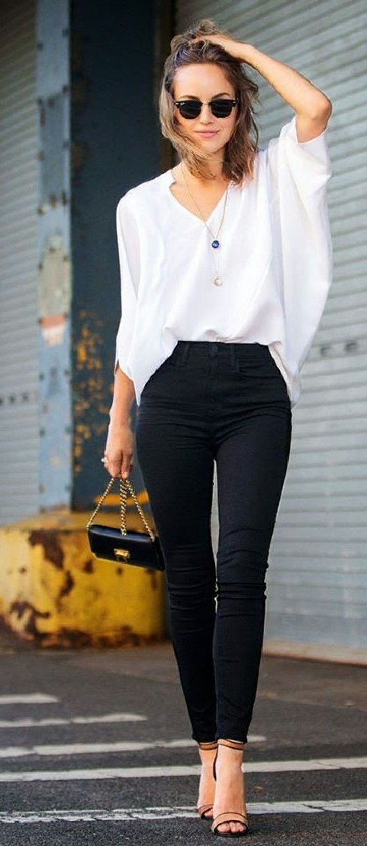 office outfits white shirt photo - 1
