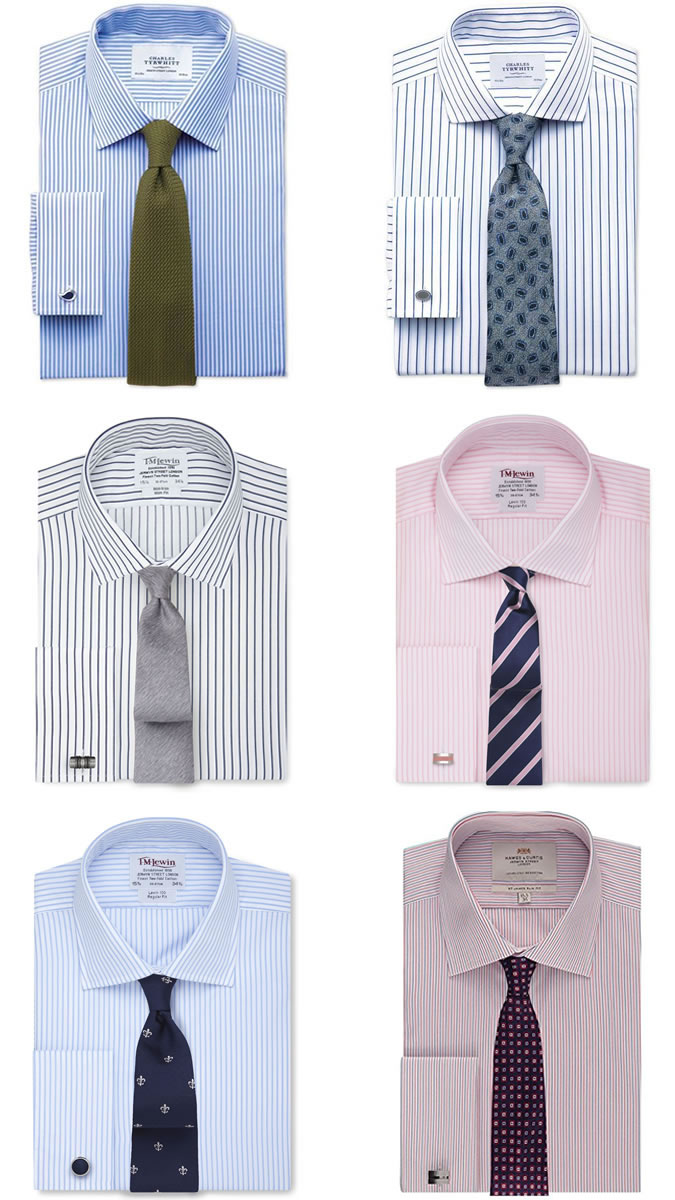 office shirt and tie combinations photo - 1
