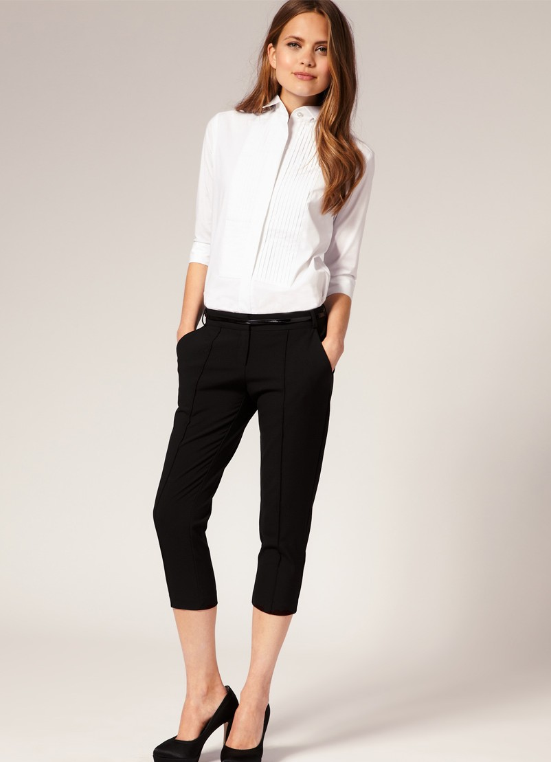 office wear shirt for ladies photo - 1