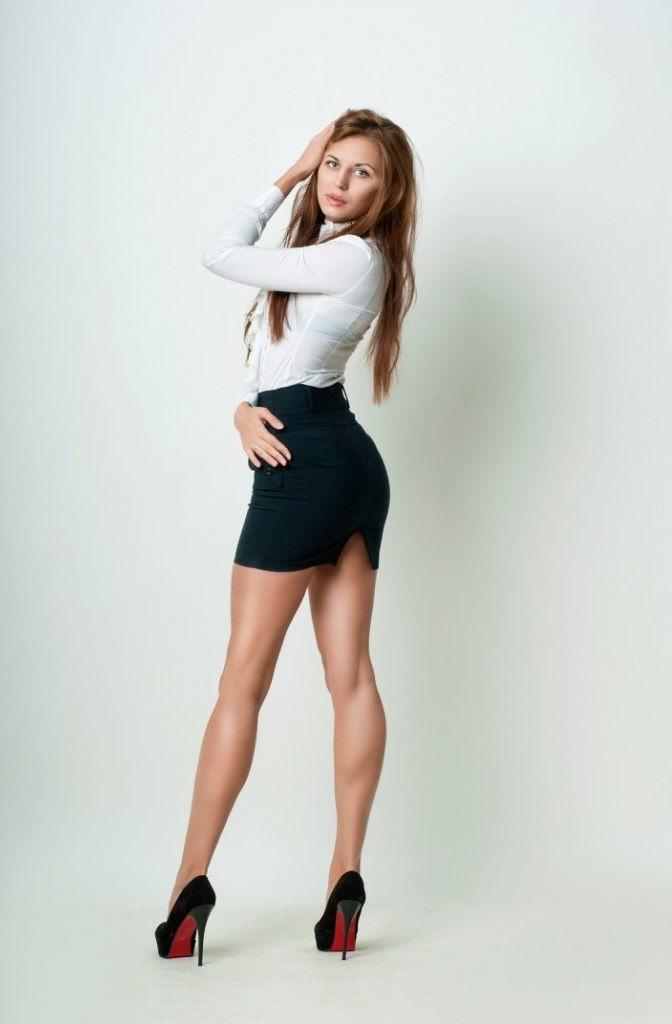 office white shirt short skirts images photo - 1