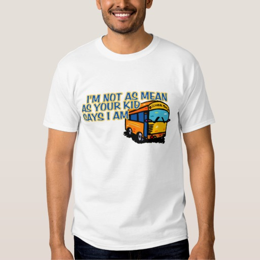 office with a view bus driver shirt photo - 1