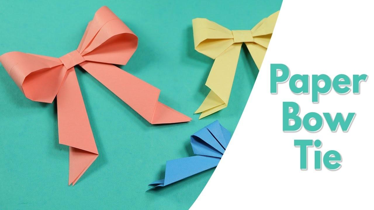 origami tie photo - 1