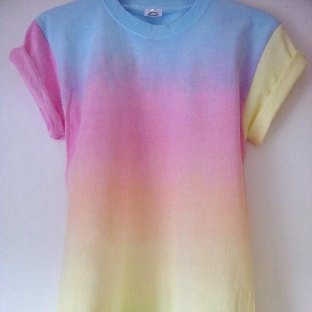 pastel tie dye photo - 1
